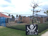 11月16日 沖縄 サバイバルゲームフィールドUKENにて