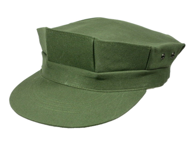 RVN ベトナム共和国軍/南ベトナム軍 ARVN OD ユーティリティ キャップ (八角帽) レプリカ新品