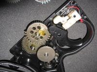 電動 MG42 ハイサイクル化 ギアボックス(グリップ)