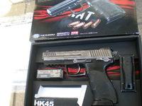 マルイ HK45 ガスブローバック プロップ風