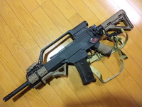G36 実銃動画との比較