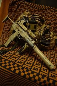MP7A1塗装再び・・・・