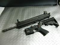 WE HK416 アッパー分解
