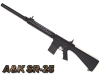 A&K SR-25分解