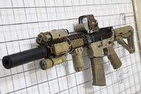 次世代M4 MK18 mod.1 #50 SOCOM 556サプレッサー