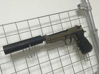 ガスブロ M92F 固定スライド化 改良