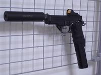 電動ハンドガン M93R ⑦ ドットサイト装着