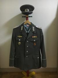 地上軍機甲科大尉制服完成!