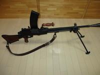 九六/九九式軽機関銃用負革 鉄製ナスカン