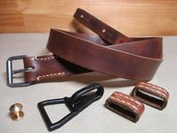 二式小銃テラ用負い革 鉄製ナスカン