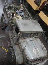 軍用トラックの完成!