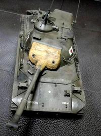 61式戦車手直し