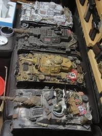大型戦車も