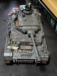 Ⅳ号戦車盛り付け(笑)