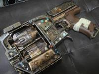 二連シリンダー銃の完成
