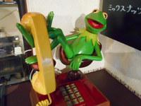 お店の電話
