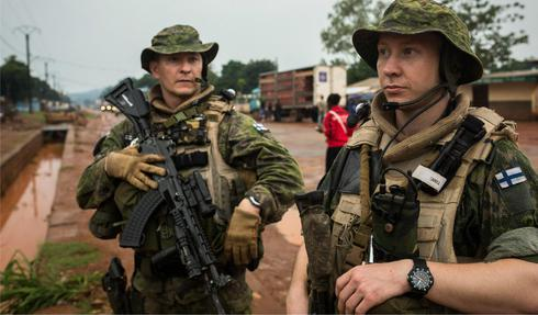 Finnish Army / traser CODE BLUE