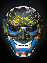 DRESS&GUN☆オリジナルフェイスマスクを作ろう☆