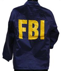 ミルフォース FBIウィンドブレーカー・レプリカ(Lサイズ)