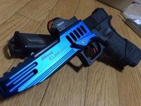 Glock17レースカスタム!アキュコンプ&タイニードット 2014/10/01 15:25:02