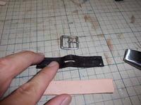 革脚絆の修理 その2