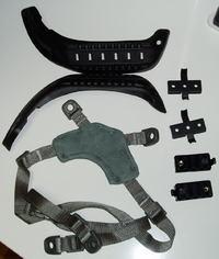 ヘルメットを改造する