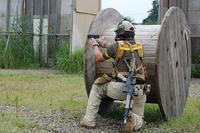 皆さん装備も銃も拘り様々でした。