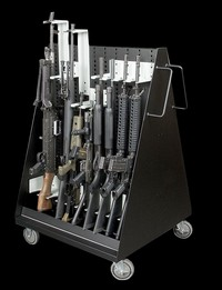 heavy gun rack