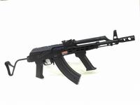 アフガン婦警も撃ってるハンガリー式AK!