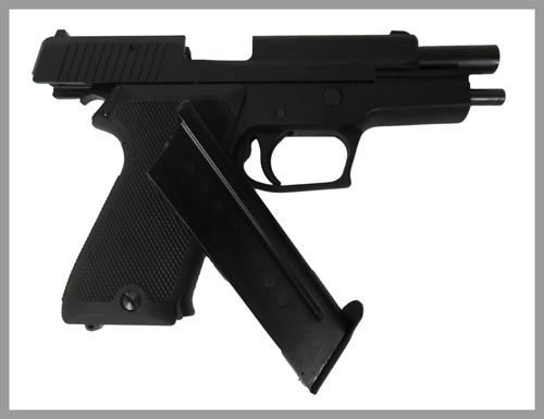 9mm拳銃すらすと