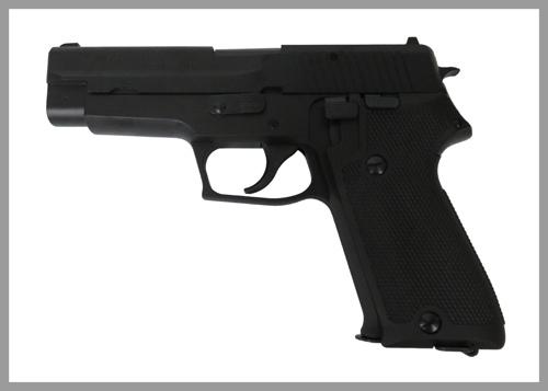 9mm拳銃左