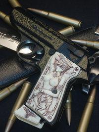 Walther PPK/s ENGRAVED&GURIKOSAN