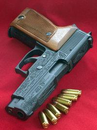 SIG P220 ENGRAVED