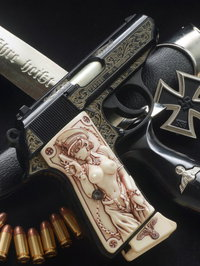 Walther PPK/s ENGRAVED&グリ子さん