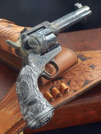 COLT S.A.A CUSTOM ENGRAVED