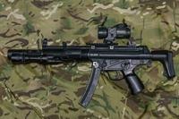 CYMA MP5・・・・の小ネタ リアスイベルリングの脱落防止策