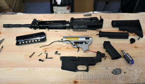 Engineering & Technical Division:M4A1 AEG Disassembly