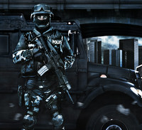 黒武装^^