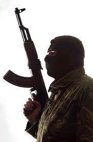 戦闘準備wイスラム系黒装備^^