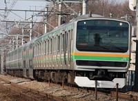 ★F2★電車でF2!