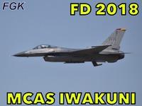 岩国フレンドシップデー2018 PACAF F-16 Demo Flight 〜午後の部〜