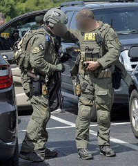 FILTER FBI SWAT Team PATCH!