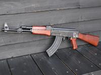 旧ソビエトにおいて生産されたAK47