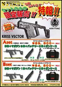 【最終決戦だ!!】クリスベクターセット在庫有ります………が!