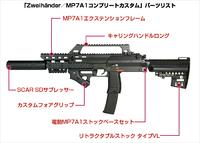 MP7A1のカッコいいカスタム例