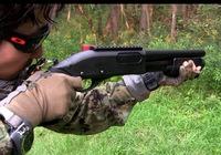 ガスショットガン「M870ブリーチャー」動画