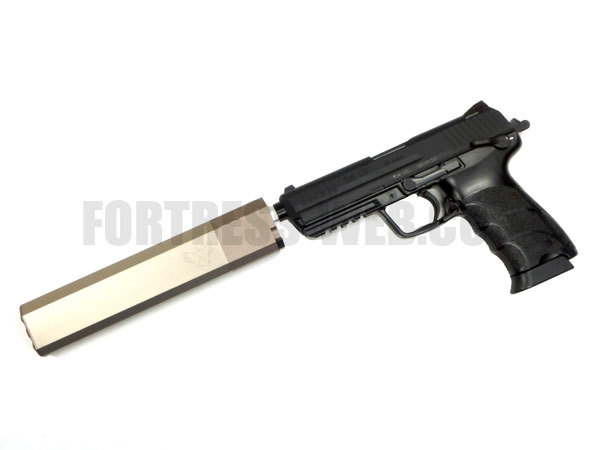 ACE1: Silencerco Ospreyタイプ サイレンサー 8インチ DE 14mm正ネジ用
