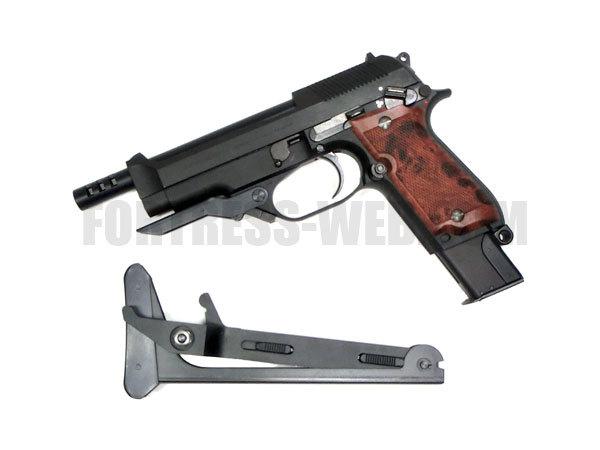 KSC (ケーエスシー): HGパーツ M93Rフォールディングストック