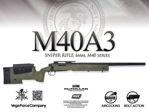 VFC: M40A3 エアーコッキングガン