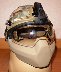 Batlskin Cobra Helmet Mandible Guards&ballistic Visors